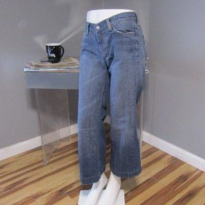 7 For All Mankind Dojo Cropped Jeans Size 28
